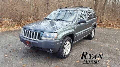 2004 Jeep Grand Cherokee for sale at Ryan Motors LLC in Warsaw IN