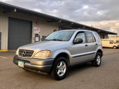 1999 Mercedes-Benz M-Class for sale at DASH AUTO SALES LLC in Salem OR
