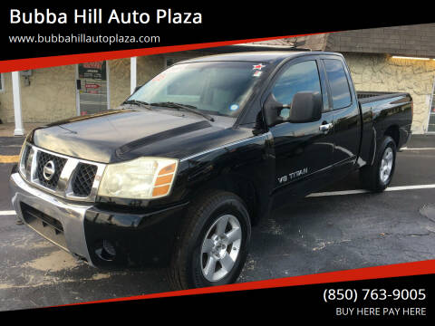 2006 Nissan Titan for sale at Bubba Hill Auto Plaza in Panama City FL
