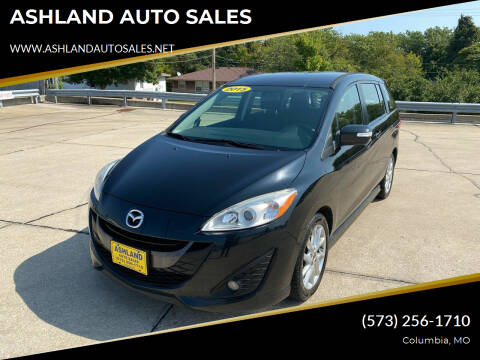 2015 Mazda MAZDA5 for sale at ASHLAND AUTO SALES in Columbia MO