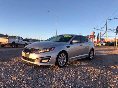 2015 Kia Optima for sale at 1st Quality Motors LLC in Gallup NM