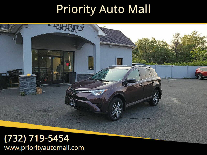 2018 Toyota RAV4 for sale at Mr. Minivans Auto Sales - Priority Auto Mall in Lakewood NJ