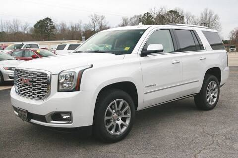 2020 GMC Yukon for sale at STRICKLAND AUTO GROUP INC in Ahoskie NC