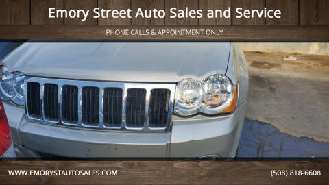 2008 Jeep Grand Cherokee for sale at Emory Street Auto Sales and Service in Attleboro MA