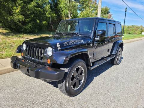 2012 Jeep Wrangler Unlimited for sale at Premium Auto Outlet Inc in Sewell NJ