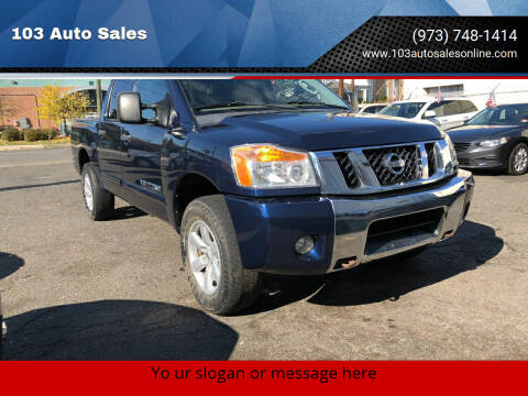 2011 Nissan Titan for sale at 103 Auto Sales in Bloomfield NJ