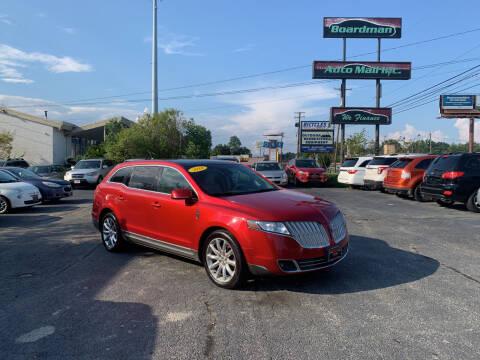 2010 Lincoln MKT for sale at Boardman Auto Mall in Boardman OH