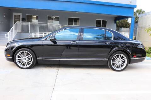 2013 Bentley Continental for sale at PERFORMANCE AUTO WHOLESALERS in Miami FL