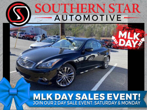 2012 Infiniti G37 Convertible for sale at Southern Star Automotive, Inc. in Duluth GA