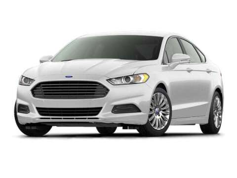 2016 Ford Fusion for sale at West Motor Company - West Motor Ford in Preston ID