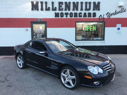2007 Mercedes-Benz SL-Class for sale at Millennium Motorcars in Yorkville IL