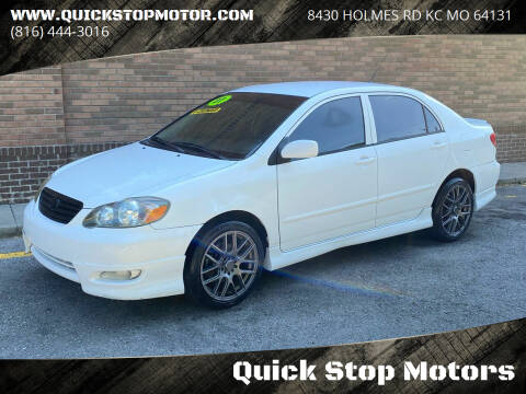 2007 Toyota Corolla for sale at Quick Stop Motors in Kansas City MO
