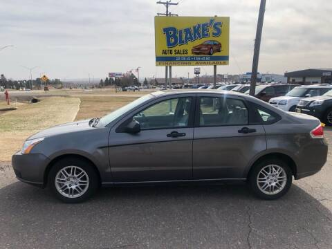 2010 Ford Focus for sale at Blake's Auto Sales in Rice Lake WI