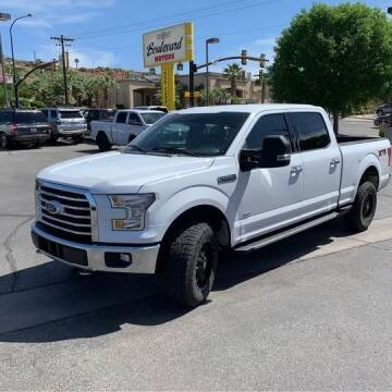 2016 Ford F-150 for sale at Boulevard Motors in Saint George UT