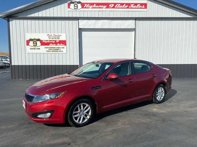 2013 Kia Optima for sale at Highway 9 Auto Sales - Visit us at usnine.com in Ponca NE