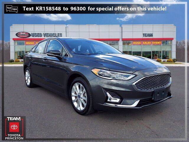 2019 Ford Fusion Energi for sale in Lawrenceville, NJ