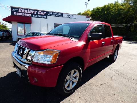 2012 Nissan Titan for sale at Chris's Century Car Company in Saint Paul MN