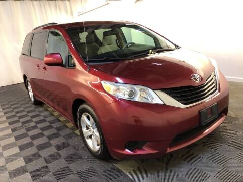 2012 Toyota Sienna for sale at MELILLO MOTORS INC in North Haven CT