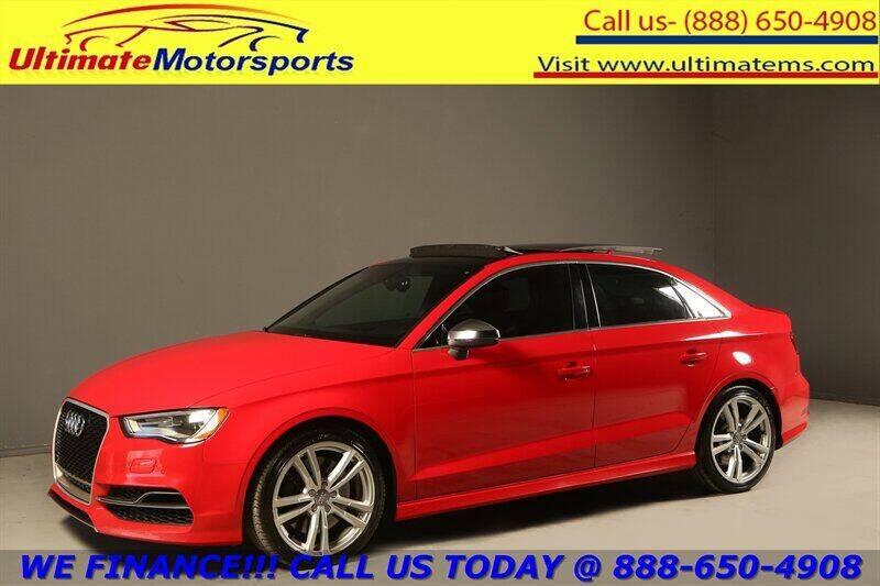 2015 Audi S3 for sale in Houston, TX