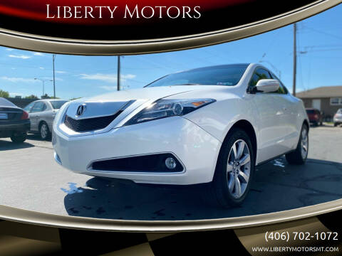 2010 Acura ZDX for sale at Liberty Motors in Billings MT