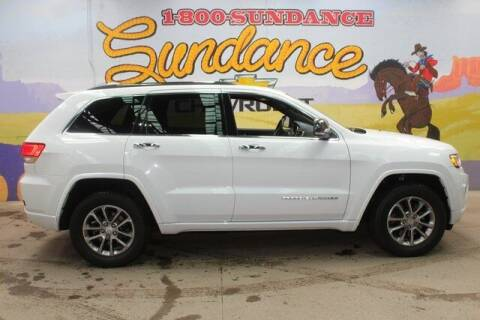 2014 Jeep Grand Cherokee for sale at Sundance Chevrolet in Grand Ledge MI