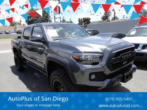 2019 Toyota Tacoma for sale at AutoPlus of San Diego in Spring Valley CA