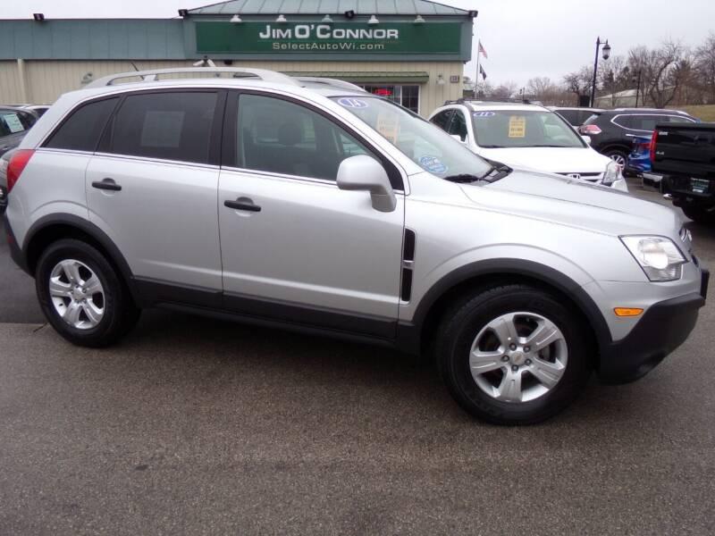 2014 Chevrolet Captiva Sport for sale at Jim O'Connor Select Auto in Oconomowoc WI