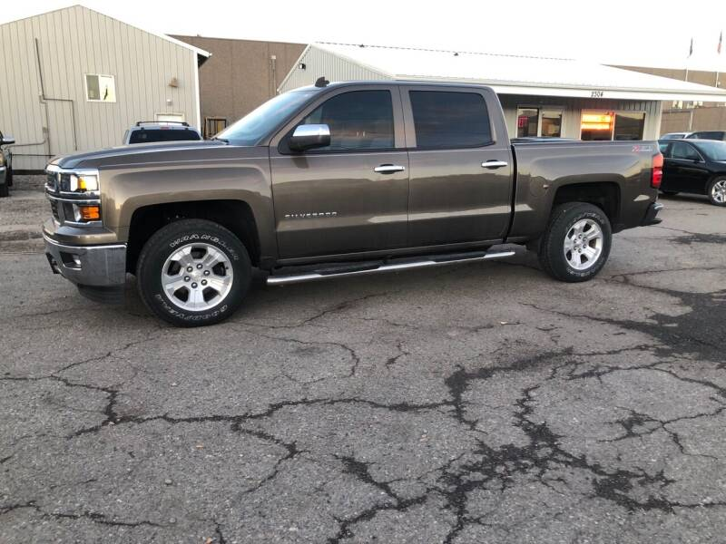 2014 Chevrolet Silverado 1500 for sale at Mikes Auto Inc in Grand Junction CO