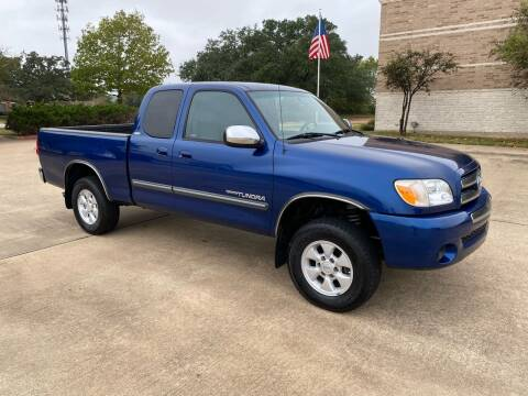 2006 Toyota Tundra for sale at Pitt Stop Detail & Auto Sales in College Station TX