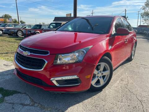 2015 Chevrolet Cruze for sale at Texas Select Autos LLC in Mckinney TX