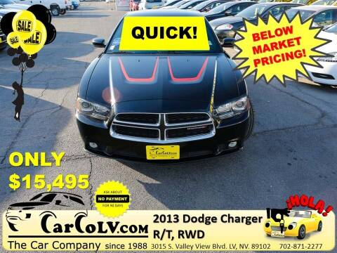 2013 Dodge Charger for sale at The Car Company in Las Vegas NV