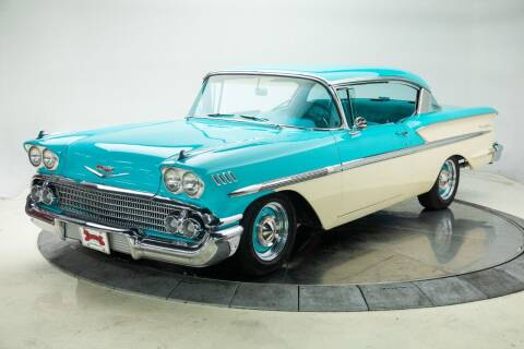 1958 Chevrolet Bel Air for sale at Duffy's Classic Cars in Cedar Rapids IA