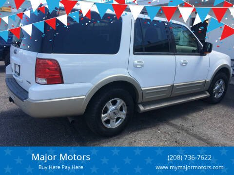 2005 Ford Expedition for sale at Major Motors in Twin Falls ID