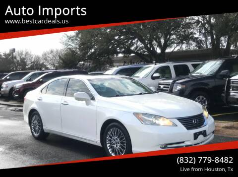 2007 Lexus ES 350 for sale at Auto Imports in Houston TX