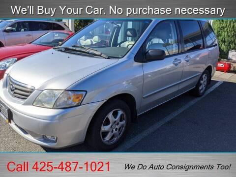 2001 Mazda MPV for sale at Platinum Autos in Woodinville WA