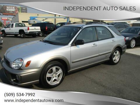 2002 Subaru Impreza for sale at Independent Auto Sales in Spokane Valley WA