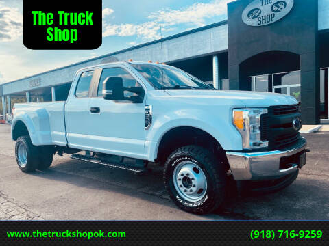 2017 Ford F-350 Super Duty for sale at The Truck Shop in Okemah OK