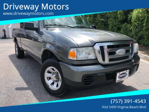 2009 Ford Ranger for sale at Driveway Motors in Virginia Beach VA