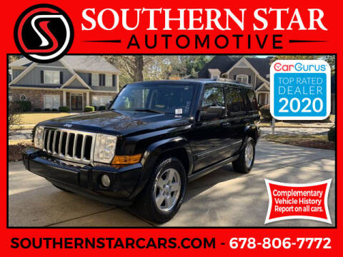 2008 Jeep Commander for sale at Southern Star Automotive, Inc. in Duluth GA