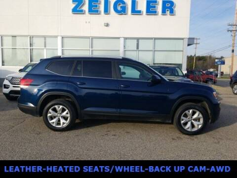 2018 Volkswagen Atlas for sale at Zeigler Ford of Plainwell- michael davis in Plainwell MI
