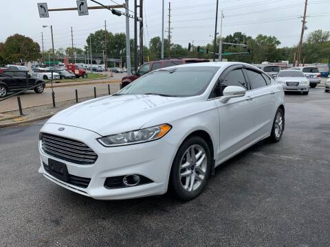 2014 Ford Fusion for sale at Smart Buy Car Sales in Saint Louis MO