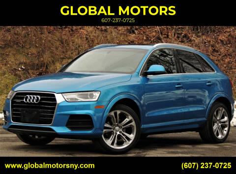 2017 Audi Q3 for sale at GLOBAL MOTORS in Binghamton NY