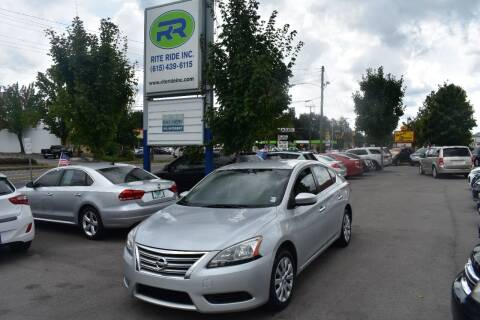 2014 Nissan Sentra for sale at Rite Ride Inc 2 in Shelbyville TN