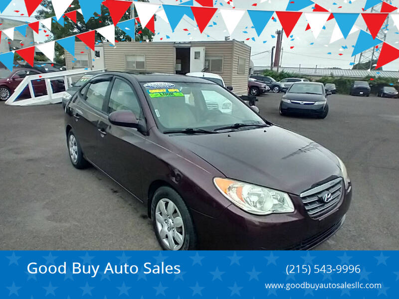 2008 Hyundai Elantra for sale at Good Buy Auto Sales in Philadelphia PA
