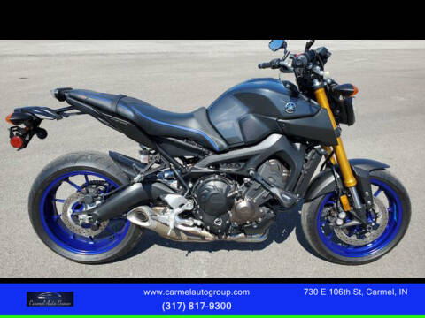 2014 Yamaha FZ-09 for sale at Carmel Auto Group in Indianapolis IN