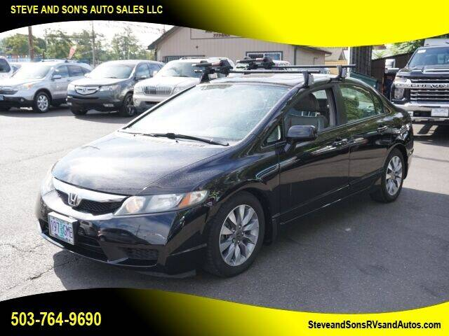 2009 Honda Civic for sale at Steve & Sons Auto Sales in Happy Valley OR