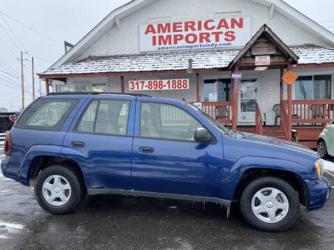 2006 Chevrolet TrailBlazer for sale at American Imports INC in Indianapolis IN