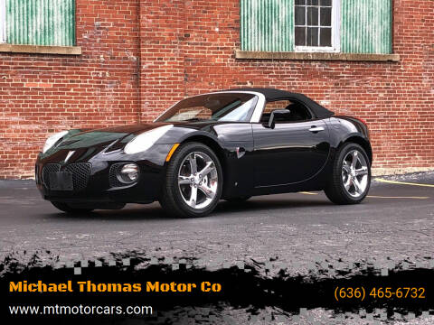 2007 Pontiac Solstice for sale at Michael Thomas Motor Co in Saint Charles MO
