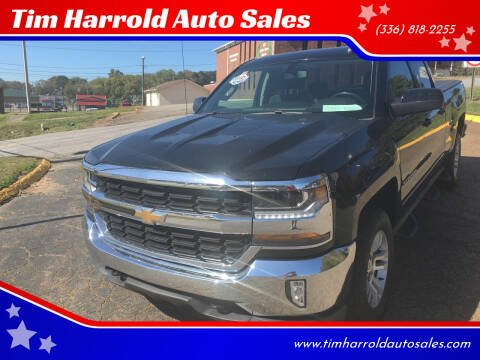 2016 Chevrolet Silverado 1500 for sale at Tim Harrold Auto Sales in Wilkesboro NC
