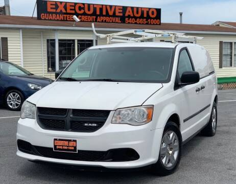 2012 RAM C/V for sale at Executive Auto in Winchester VA